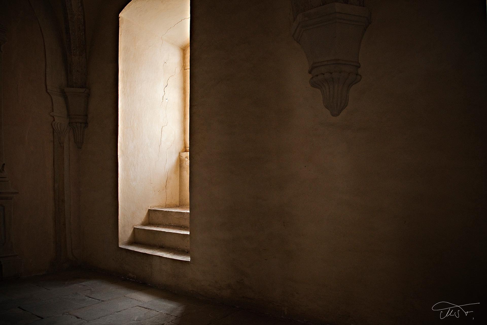 Fensternische im Dormitorium