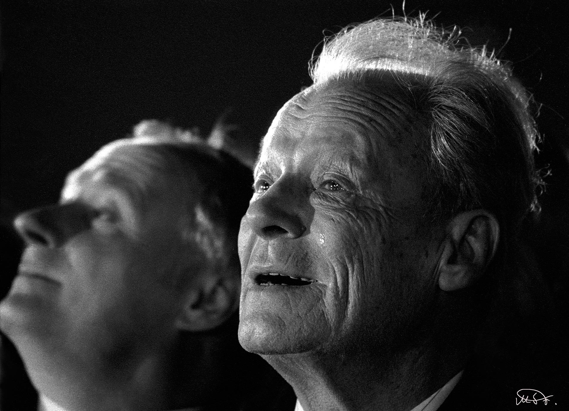Willy Brandt und Oskar Lafontaine