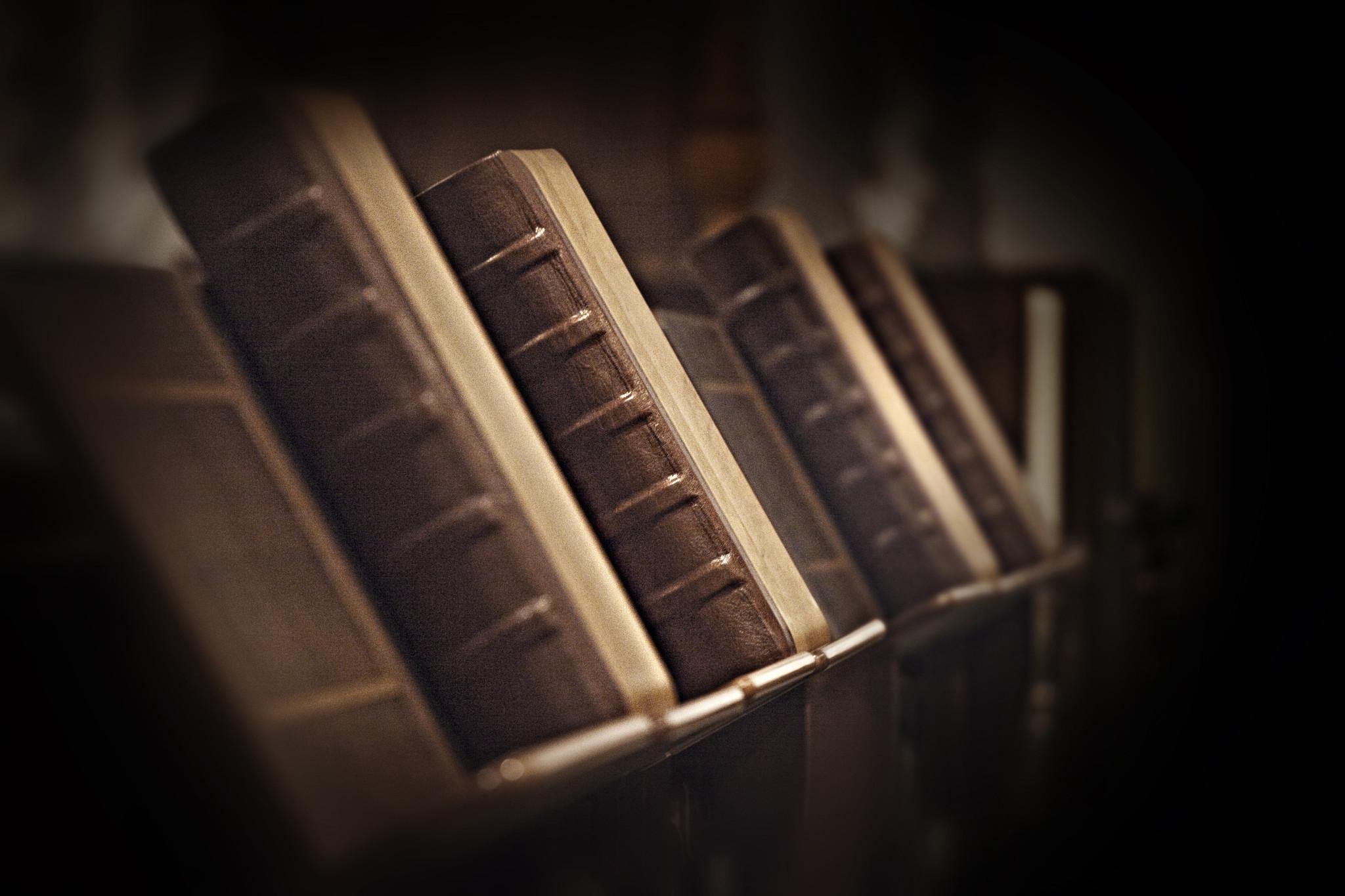 geschlossene Chorbücher