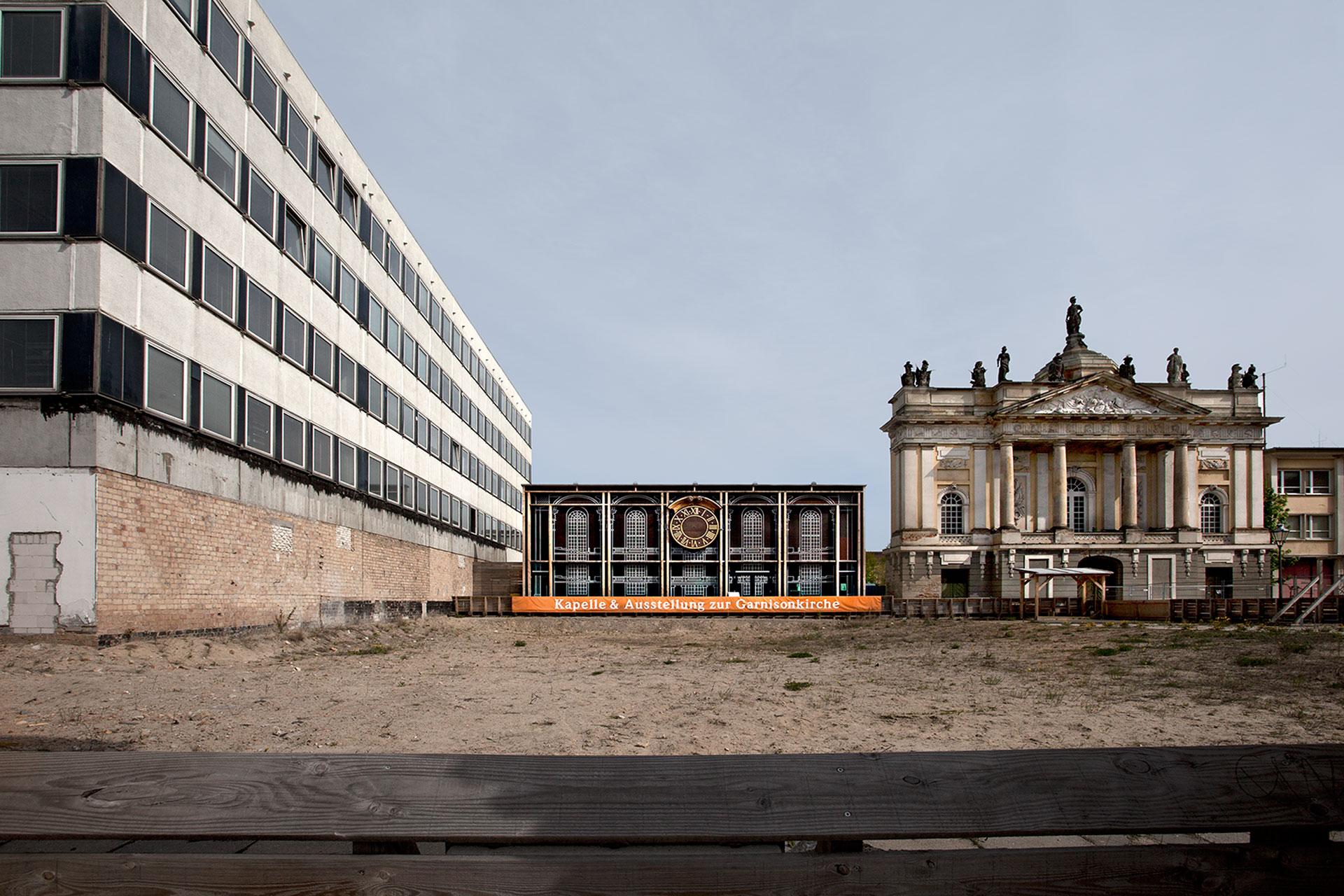 Standort der Garnisonkirche Potsdam