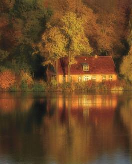 Der Heilige See am Neuen Garten in Potsdam